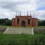 Строящийся храм в честь свт. Нектария Эгинского